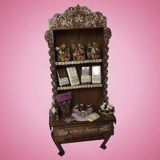 Wonderful Dollhouse Chocolate Display Artist made