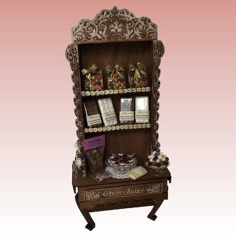 Wonderful Dollhouse Chocolate Display Artist made