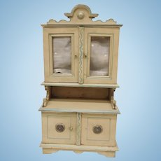 Wonderful  Early Gottschalk Cupboard large Scale