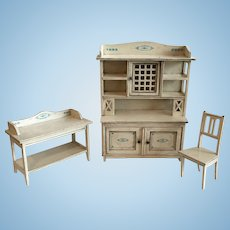Fabulous Early Gottschalk Kitchen Set