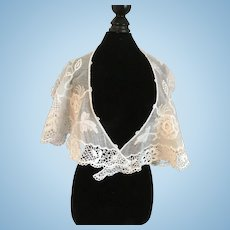 Lovely Lace Collar for Antique Bisque Doll