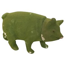 Wonderful Early Pig Candy Container