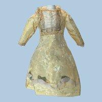 Beautiful  Vintage Satin Doll Dress