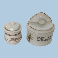 German Dollhouse Kitchen  Early Accessories