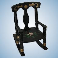 Great Renwal Pennsylvania Dutch Rocking Chair
