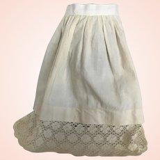 Pretty Antique Under Garment For Antique Doll