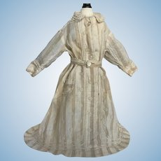 Antique Doll Dress for Fashion Doll