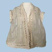 Sweet Antique Doll Undergarment Top