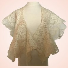 Beautiful Lace Collar for Antique Doll