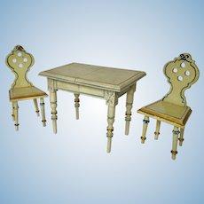 Fabulous Gottschalk Table and Chairs