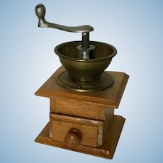 Larger Dollhouse Scale Coffee Grinder