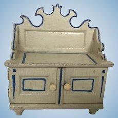 Early German Kitchen Sideboard