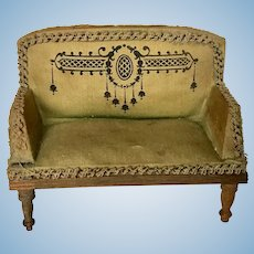Antique Eppendorf and Nache German Settee ca. 1900