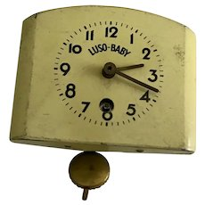 Early Large Scale Tin Clock