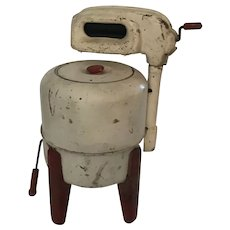 A Great Childs Kenmore Wringer Washer Machine Salesman's Sample