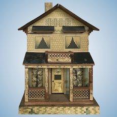 Wonderful Early Bliss Dollhouse ca. 1911