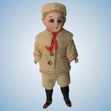 "Sweet Antique l Gebruder Kuhnlenz Bisque Doll 5 1/2"""