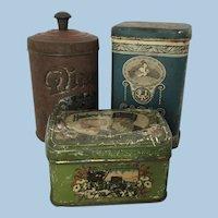 Wonderful Early German tins