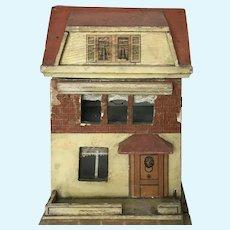 Antique Small German Dollhouse