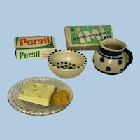 German Dollhouse Large scale Kitchen or Store Accessories