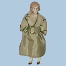 "Antique Dollhouse Doll 5"""