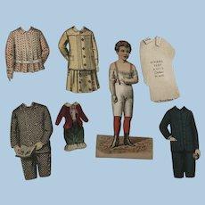 Wonderful Early Paper Dolls Rogers & Peet & co.