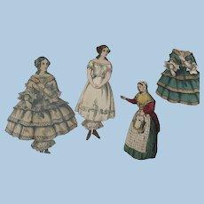 Antique Paper Dolls McLoughlin
