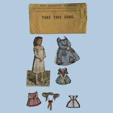 Wonderful  Antique paper Dolls ca. 1880's