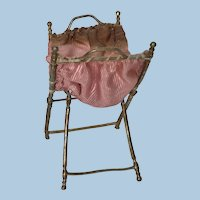 Wonderful German Soft Metal Sewing Basket