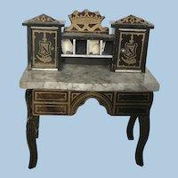 Antique Biedermeir Boulle Desk 19th Century