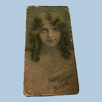 Beautiful Antique Chocolate Heides Vandam Box Ca. 1865-1875