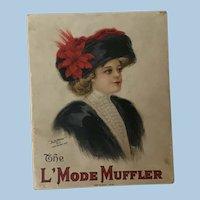 Wonderful Ladies Muff Box L Mode