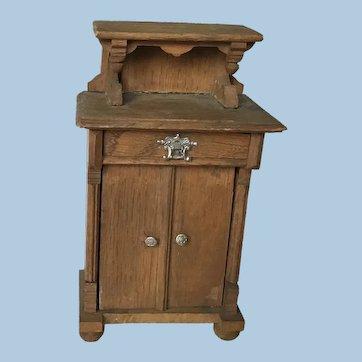 Beautiful Dollhouse Dinning Room Cabinet
