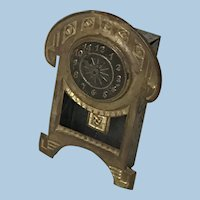 Antique Ormolu Dollhouse Clock
