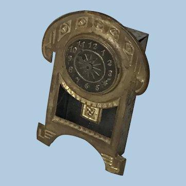 Antique Ormolu Dollhouse Clock