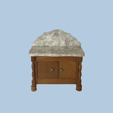 Antique Dollhouse Schneegas Wash Stand
