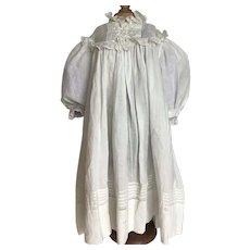 Beautiful Antique Pinafore Doll Dress