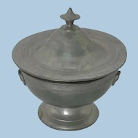 German Dollhouse Metal Compote