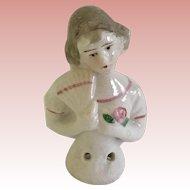 Antique Small Half Doll