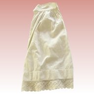 Antique Doll Slip with Lace
