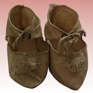 Beautiful Antique Doll Shoes