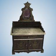 Antique Biedermeir Boulle Side Board ca. 1880-1900