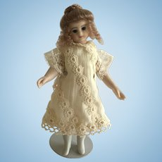 Beautiful Artist Made Bisque Doll 5 1/2""