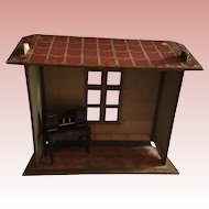 Wonderful Rare Small French Folding Room