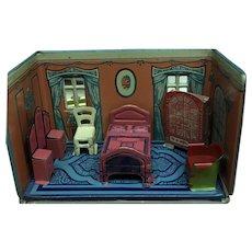 Wonderful Marx Newlywed Bedroom ca. 1920's
