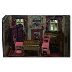 Fabulous Marx Newlywed Dining  Room ca. 1930's