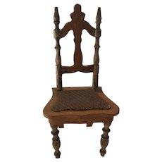 German Dollhouse Schneegass Chair
