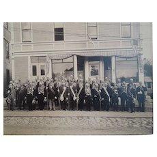 Victorian Masonic Group Photograph