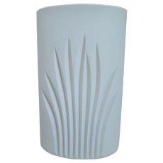20th Century Modernist  Rosenthal  Porcelain Tall White Matte Vase, Studio Line, 1970's