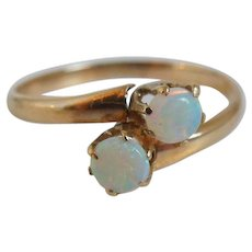 Antique Victorian Opal Ring, 10K